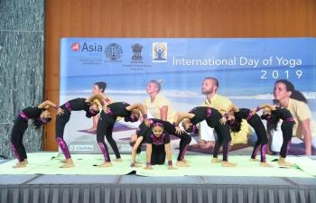 Celebration of 5th International Day of Yoga