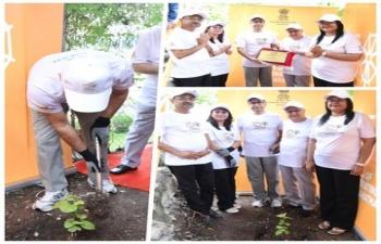 Tree Plantation to celebrate 150th birth anniversary of Mahatma Gandhi