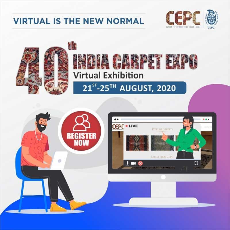 40th India Carpet Expo : Virtual Exhibition